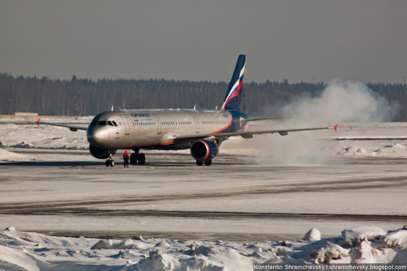 Aeroflot Russian Airlines Boeing 757 Аэрофлот Российские Авиалинии Боинг 757