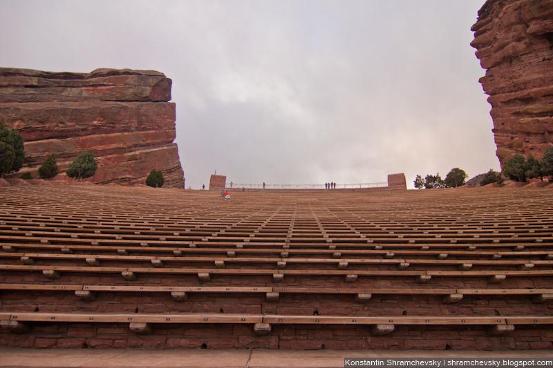 USA Colorado Denver Red Rocks Amphitheater США Колорадо Ред Рокс Красные Скалы Амфитеатр