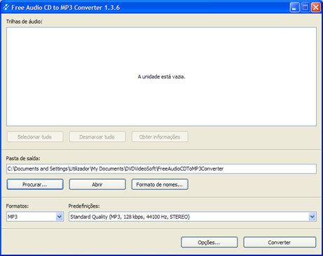 Free Audio CD to mp3 converter 1