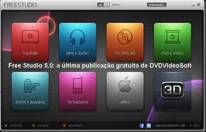 Free Studio 5_-0 a última publicação gratuita de DVDVideoSoft