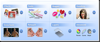 FotoFlexer - funcionalidades