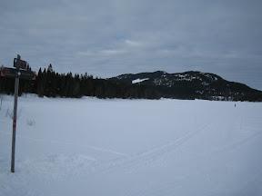 ice on the water before Kikut
