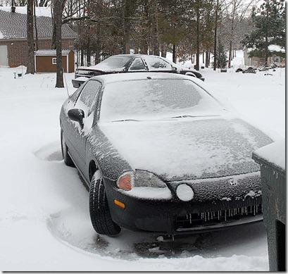 frozen honda