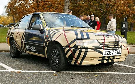 Burberry Chavalier Chav Art Car