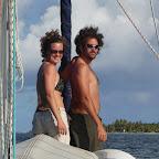 Crew bei der Augapfel-Navigation