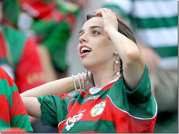 torcida feminina portuguesa