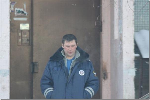 Policiais russos bebados (1)