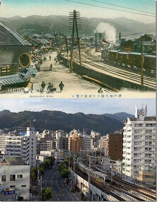Fotos do Japão antes e depois (4)