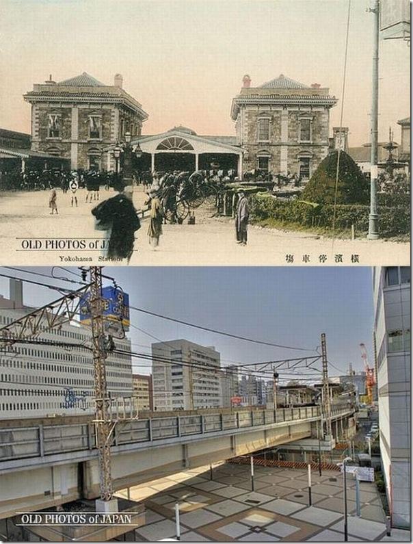 Fotos do Japão antes e depois (1)