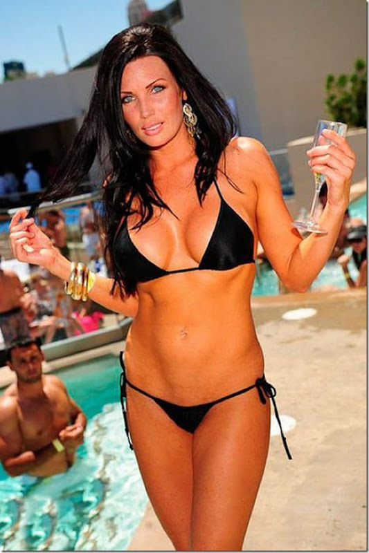 The Most Beautiful Girls Festa Na Piscina Em Las Vegas