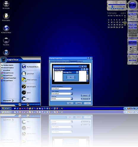 "image%5B5%5D Baixar Tema ""ForeverBlue2"" para Windows XP"