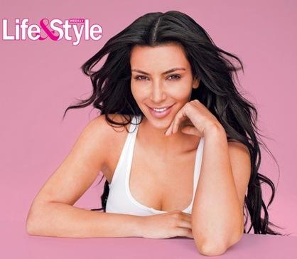 Kim Kardashian Goes Makeup Free for Life&Style Photoshoot