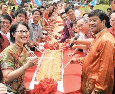 Elizabeth Wong Khalid Ibrahim Chinese New Year Celebration