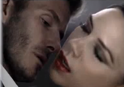 David Beckham and Victoria Intimately Yours Ads picture