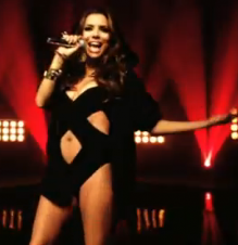 Eva Longoria Parker Raps for MTV EMAs‎ in Swimsuit picture