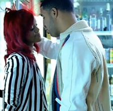 Rihanna and Drake What's My Name Music Video