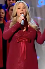 Mariah Carey Christmas in Washington Performance picture