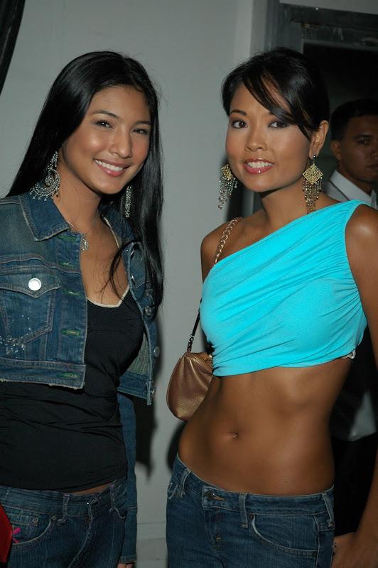 Tisha Silang wearing a sexy top