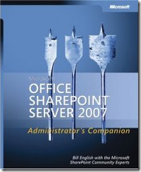 Microsoft Office SharePoint 2007 Administrators Companion