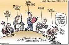 evolução comunicação