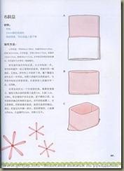 molde do cestinho de tecido