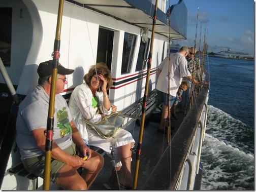 2009 March 25 fishing, zoo, flour, birthday 008