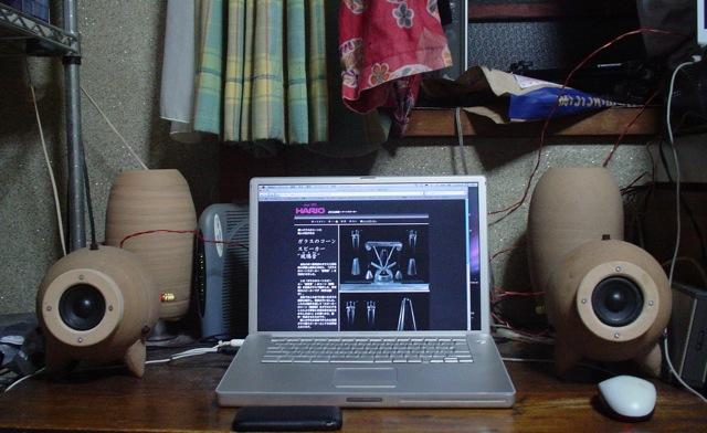 FF70EGをデスクトップで聴いてみる
