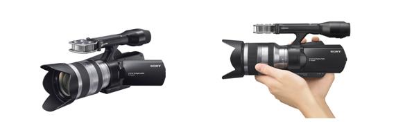 """世界初レンズ交換式HDビデオカメラ""""ハンディカム""""『NEX-VG10』発売"""