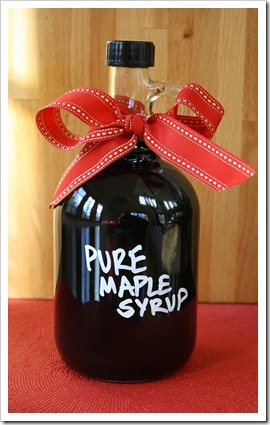 maple syrup oliverea schoolhouse glass jug