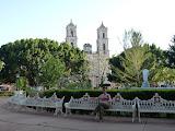 Parc devant la cathédrale de Valladolid