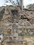 Stèle d'un roi de Copan