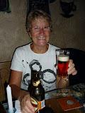 Elle s'est mise à la bière!!!!