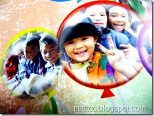 可愛的孩子因為你的幫助而讓他們可以有更多的微笑