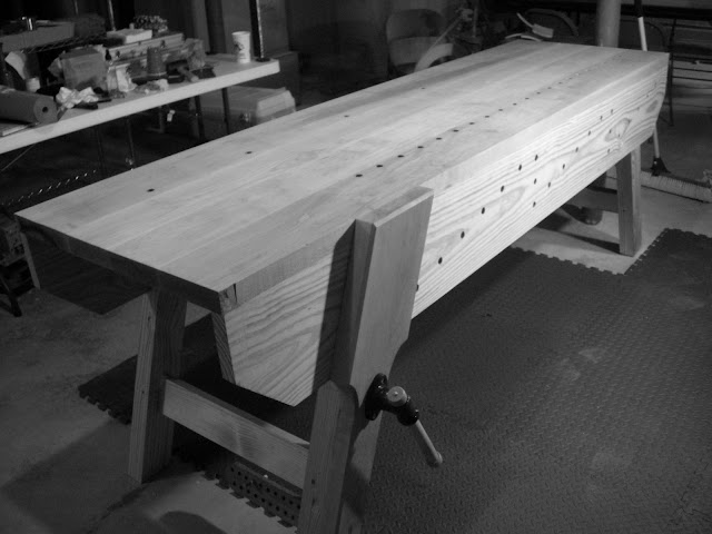 Holtzapffel Bench Part - 25: I Have Built Two A Holtzapffel And A Nicholson Both Have Advantages And  Shortcomings, However, Both Are Excellent Benches. Here Are A Couple Of  Pictures (I ...