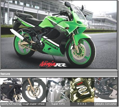 Motor Specification  Interests and Hobbies  Kawasaki Ninja RR 150 CC