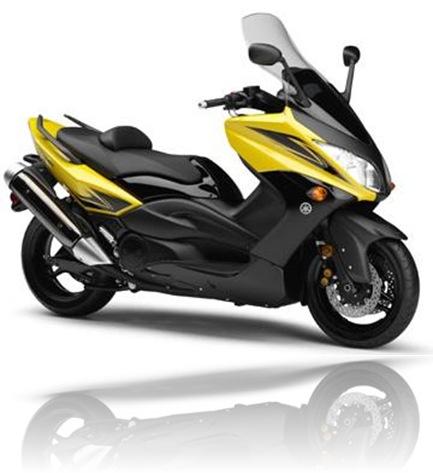 Yamaha TMAX Yellow