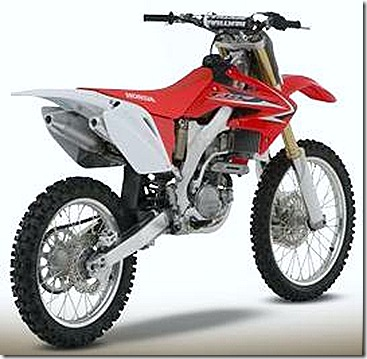 Motor Specification, Interests and Hobbies: Honda CRF250R Off Road