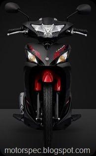 Yamaha lexam front view