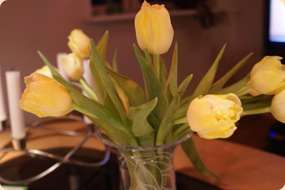 gule glædespletter