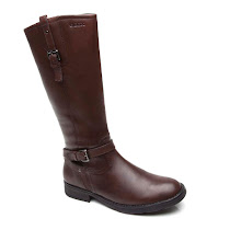 Geox Sofia Long Leather Boot BOOTS
