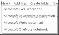 Nuevo - Office Web Apps