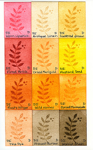 Distress Inks on Watercolor Paper - Part 2