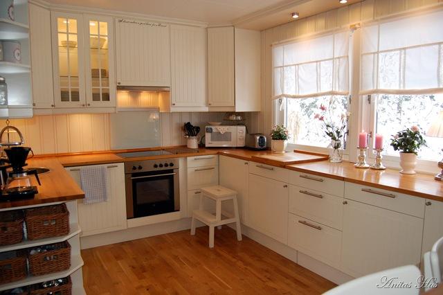 Anitas hus: kjøkkenet vårt