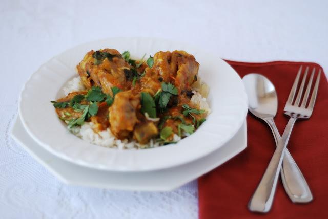 Spicy Habibti: Pakistani Chicken Curry