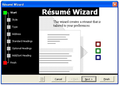 Resume Wizard resume wizard template You Can Click Any Style You Want But For This Guide We Use Elegant Click Next When Ready