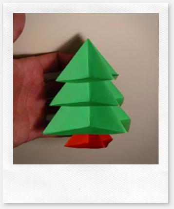Papiroflexia tutorial rbol de navidad modular - Arbol de navidad origami ...