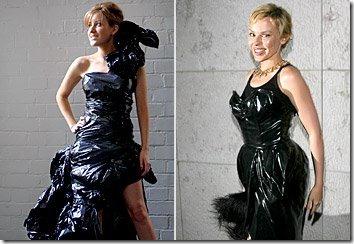 vestidos con bolsa de basura (5)