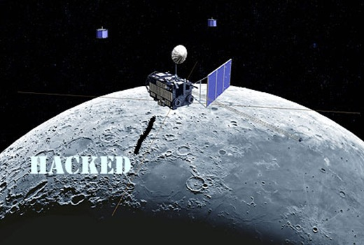 American satellite hacked