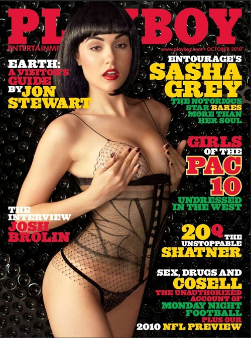 Playboy Sasha Grey 01