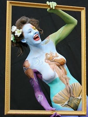 Body Painting, Sexy Women